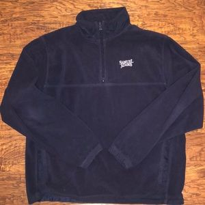 Men's Navy Samuel Adams quarter zip